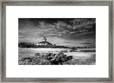 Boca Grande Florida Bw Framed Print