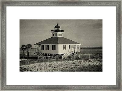 Boca Grande Lighthouse Framed Print by Lois Lepisto