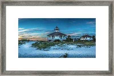 Boca Grande Lighthouse Framed Print by Marvin Spates