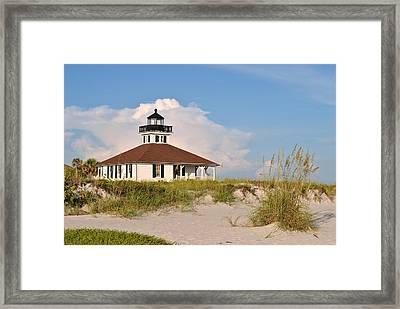 Boca Grande Lighthouse Framed Print by Steven Scott
