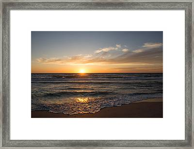 Boca Grande Sunset Framed Print