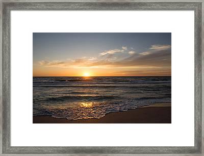 Boca Grande Sunset Framed Print by John Black