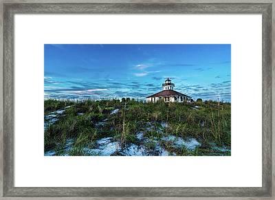 Boca Lighthouse Framed Print