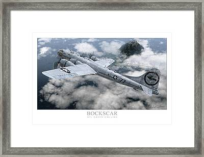 Bockscar  Framed Print by David Collins