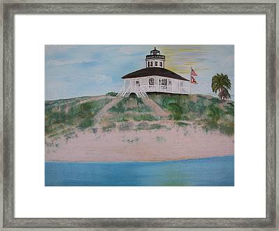 Boco Grande Lighthouse Framed Print by Joanne Smith