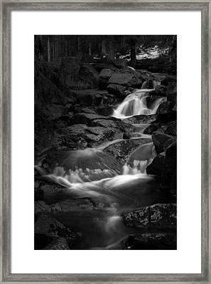 Bodefall, Harz Framed Print