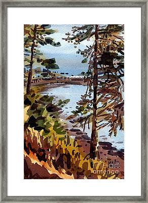 Bodega Bay Framed Print