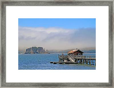 Framed Print featuring the photograph Bodega Bay by Donna Kennedy
