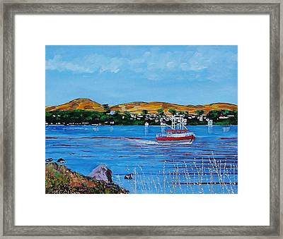 Bodega Bay From Campbell Cove Framed Print