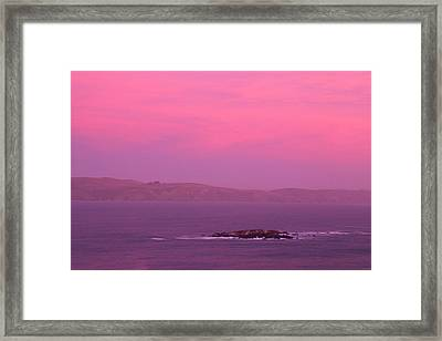 Bodega Bay  Framed Print by Soli Deo Gloria Wilderness And Wildlife Photography