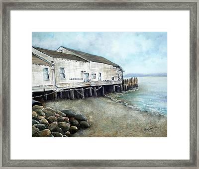 Bodega Bay Framed Print by Susy Soulies