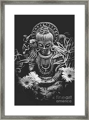 Framed Print featuring the photograph Bodhisattva Parametric by Sharon Mau