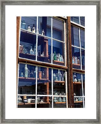Bodie Bottles #1 Framed Print