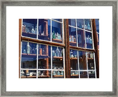Bodie Bottles #2 Framed Print