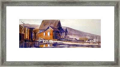 Bodie California 1979 Framed Print by Donald Maier