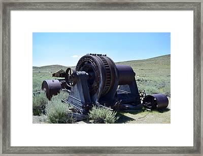 Bodie Generator Framed Print