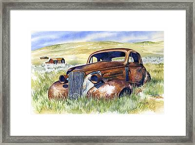 Bodie Hot Rod Framed Print by Mark Jennings