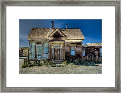 Bodie House Framed Print