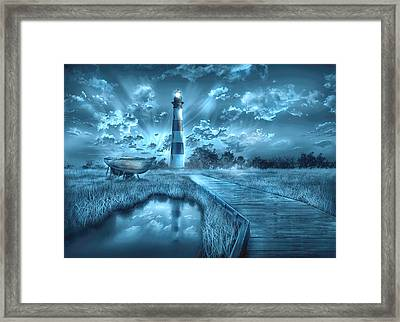 Bodie Island Lighthouse 2 Framed Print