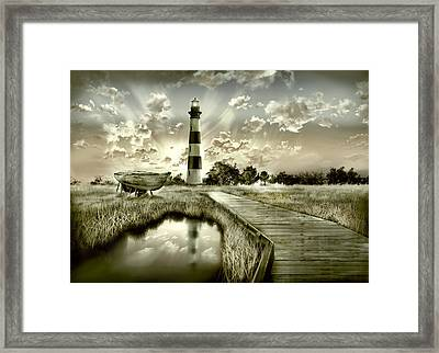 Bodie Island Lighthouse 3 Framed Print