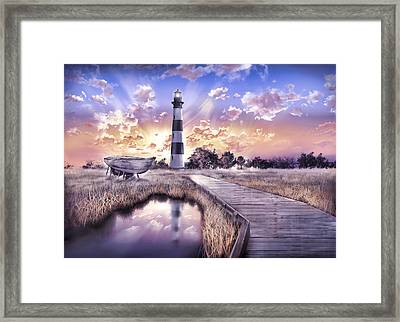 Bodie Island Lighthouse 4 Framed Print