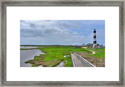Bodie Island Lighthouse Framed Print by Brad Scott