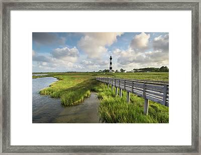 Bodie Island Lighthouse North Carolina Framed Print by Mark VanDyke