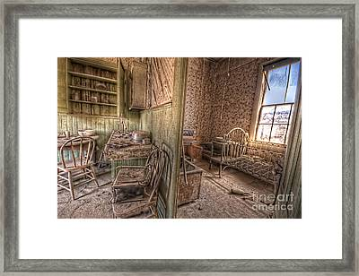 Bodie Kitchen/bedroom Framed Print by Rich Governali