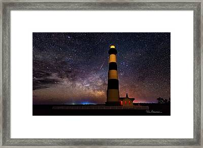 Bodie Light And Galactic Core 4994 Framed Print