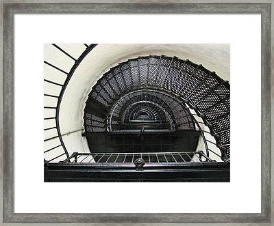 Bodie Lighthouse Nags Head Nc Iv Framed Print