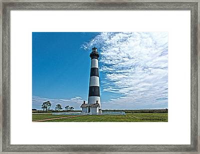 Bodie Lighthouse Framed Print