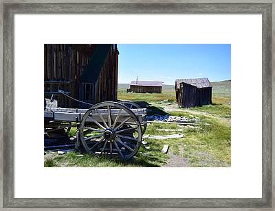 Bodie Wagon Framed Print
