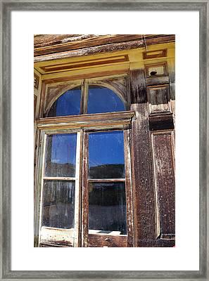 Bodie Woodwork Framed Print