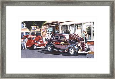Bodies And Souls Framed Print