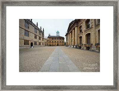 Bodleian Library Framed Print by Nichola Denny