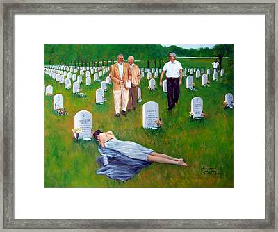 Body Counters Framed Print