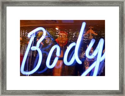 Body Of Evil Framed Print by Jez C Self