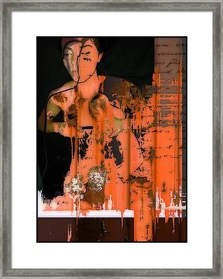 Body Of Rust Framed Print by Adam Kissel