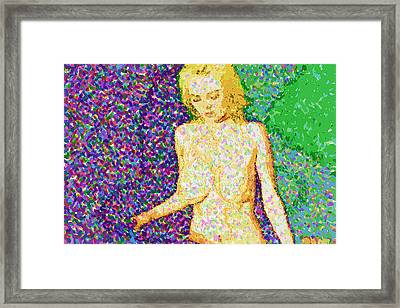 Body Perfect Framed Print by Mario Carini