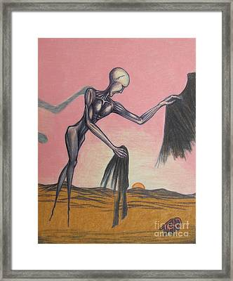Body Soul And Spirit Framed Print