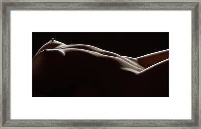 Bodyscape 254 Framed Print