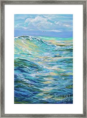 Bodysurfing North Framed Print