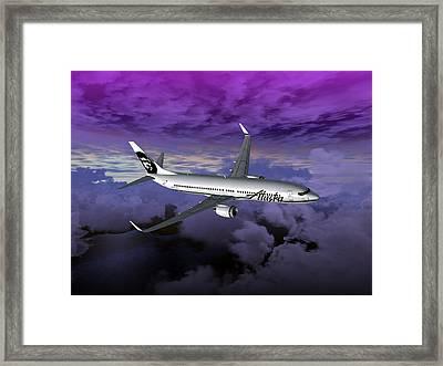 Boeing 737 Ng 001 Framed Print