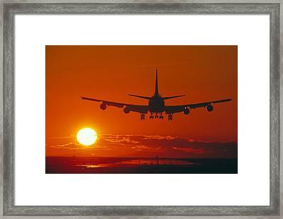 Boeing 747 Framed Print by David Nunuk