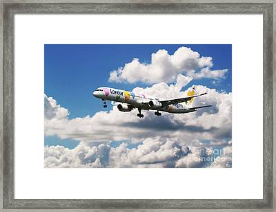 Boeing 757 Condor Airlines Framed Print