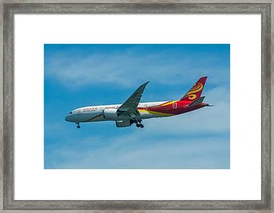 Boeing 787 Dreamliner Framed Print by Brian MacLean