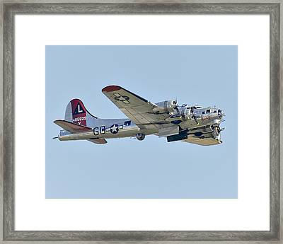 Boeing B-17g Flying Fortress Framed Print