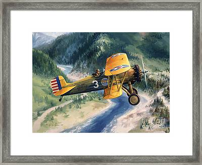 Boeing Country Framed Print by Randy Green
