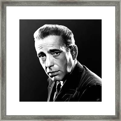 Bogart Framed Print by Paul Tagliamonte