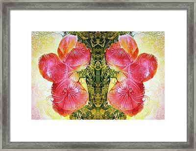Bogomil Anniversary Flower - Digital Framed Print by Otto Rapp